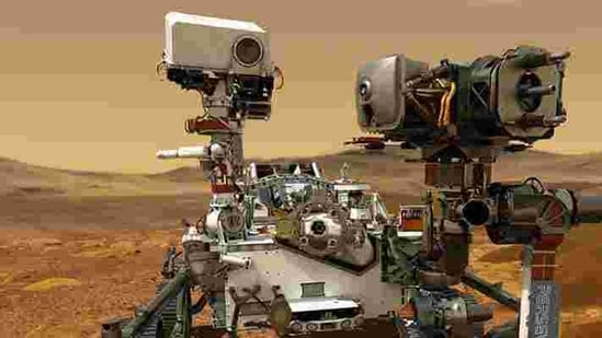 NASA Mars rover (@NASAPersevere/Twitter)