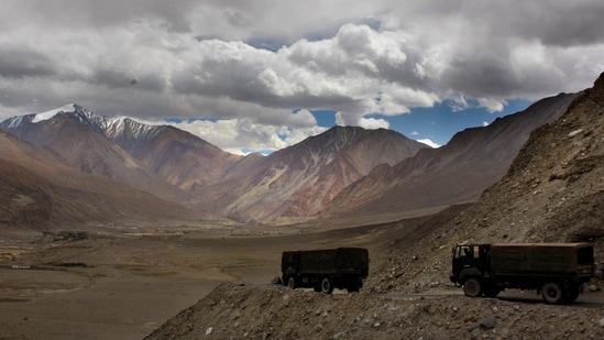 """The people described the recent drawdown of Indian and Chinese forces on the northern and southern banks of Pangong Lake as a """"good beginning"""" but cautioned that more needs to be done to address several other friction points on the Line of Actual Control.(AP)"""