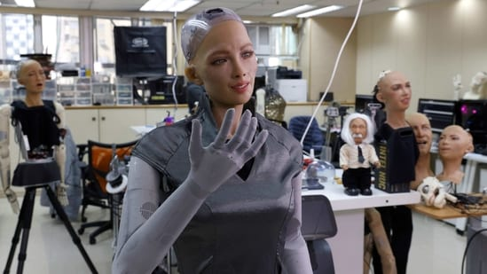 Currently, only a tiny portion of robots is humanoid like you see in the movies. REUTERS