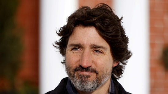 Canada's prime minister, Justin Trudeau, attends a news conference at Rideau Cottage.(File Photo / REUTERS)