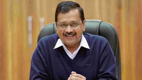 A victory of Kejriwal's Delhi model, the party said on its small gain in Gujarat civic election. (ANI)