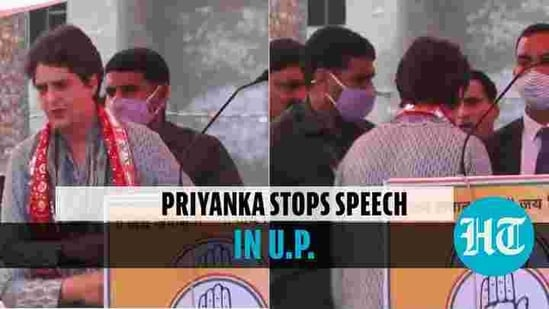 Priyanka Gandhi Vadra was addressing a farmers' rally in UP's Mathura (YouTube: Indian National Congress)