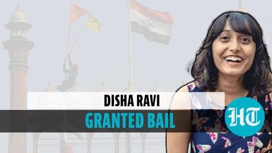 Disha Ravi granted bail by Delhi court