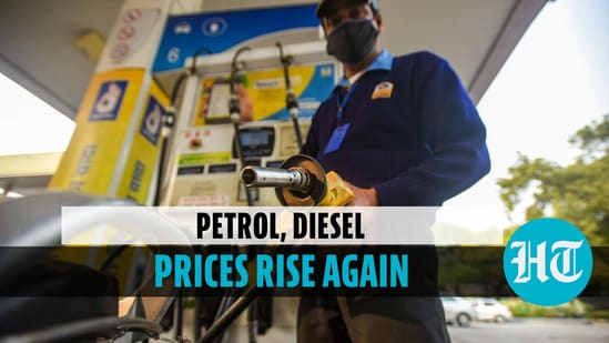 Petrol, diesel prices rise again after a pause of two days