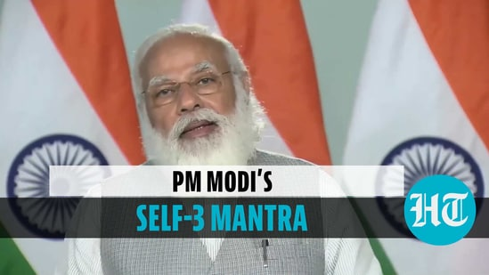 PM's self-3' mantra for students