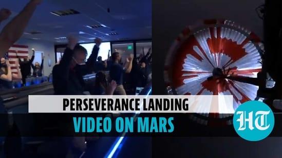 NASA releases video of landing on Mars