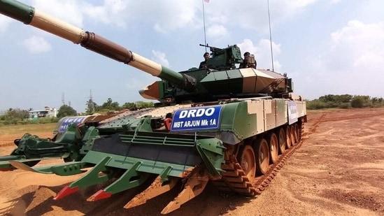 The Arjun Mk-1A main battle tank.(Photo by Special Arrangement)