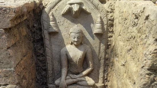 The discovery will help understand the impact of Buddhism in Jharkhand.(HT Photo)