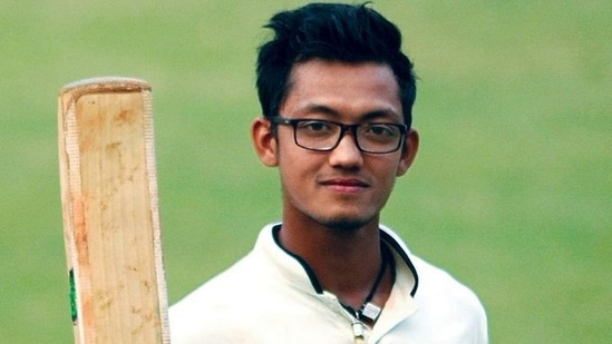 Uttarakhan batsman Jay Bista(Twitter)