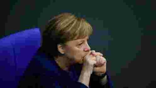 The German interior ministry's letter adds to the pressure on Chancellor Angela Merkel to take a firmer line toward China over human rights.(AP)