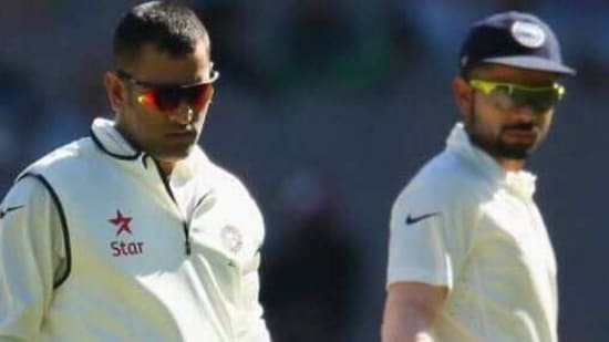 File photo of MS Dhoni and Virat Kohli(Getty Images)