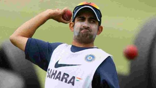 File image of Gautam Gambhir.(Getty Images)