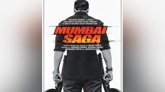 John Abraham in the poster of Mumbai Saga.