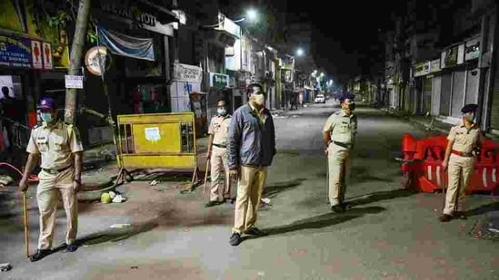 """""""During this period, essential commodities, and industries, have been excluded,"""" said Aurangabad Police Commissioner Nikhil Gupta.(PTI 