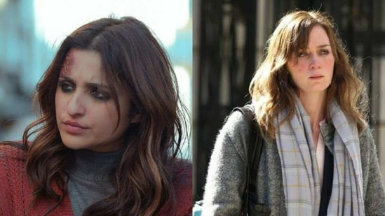 The role played by Parineeti Chopra in Ribhu Dasgupta's The Girl on the Train was essayed by Emily Blunt in the Hollywood original.