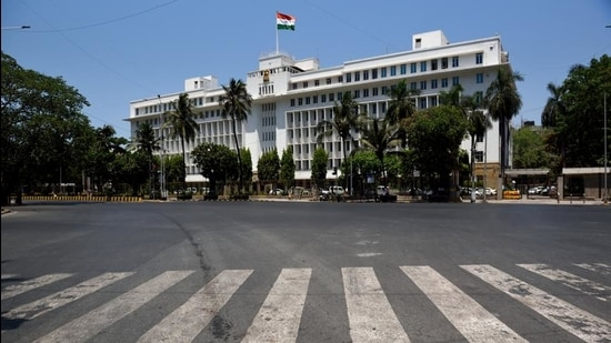 Recently a number of government employees at Mantralaya tested positive for Covid-19. (HT FILE)