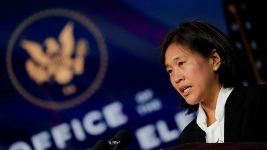 For now, Tai will focus on enforcing existing trade deals, including provisions aimed at protecting workers that she herself helped add to the US-Mexico-Canada trade deal.(REUTERS)