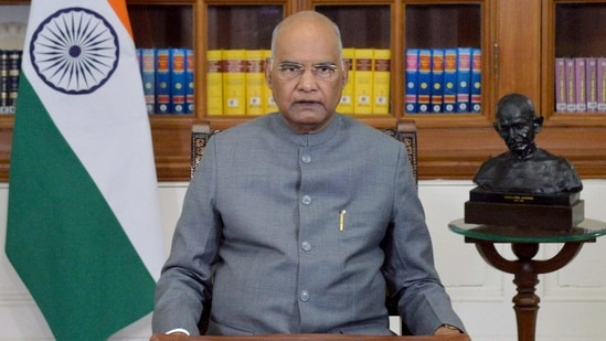 President Ram Nath Kovind. (ANI file)