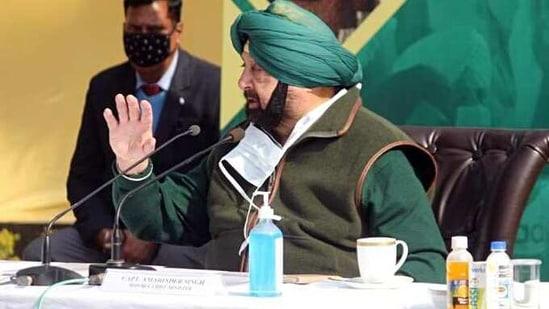 Punjab CM Captain Amarinder Singh(ANI)