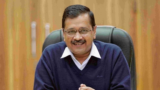 File photo of Delhi chief minister and AAP chief Arvind Kejriwal.(ANI)