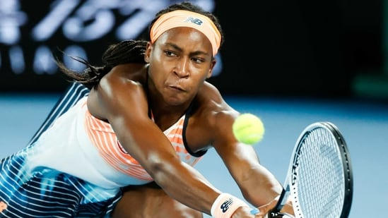 United States' Coco Gauff: File Photo(AP)