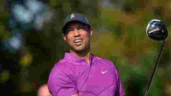 File-This Dec. 19, 2020, file photo shows Tiger Woods.(AP)