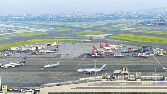 File photo of Chhatrapati Shivaji International Airport in Mumbai.(HT file photo)
