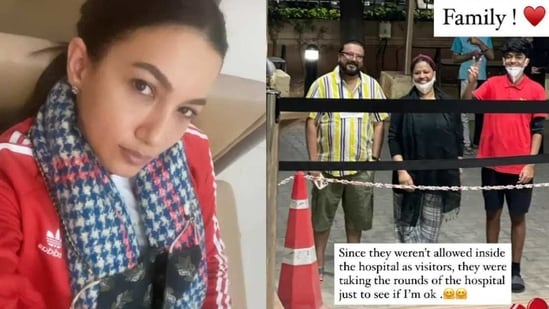 Gauahar Khan lauds her in-laws for their constant support.
