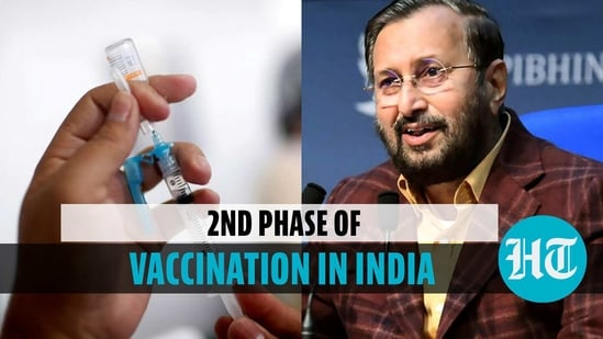 Covid vaccination second phase announced in India