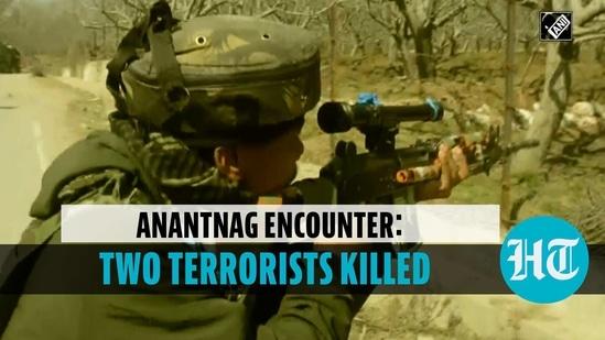 Two terrorists gunned down in encounter in Jammu & Kashmir's Anantnag