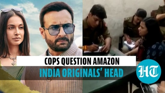Amazon India Originals' head records statement at UP police station