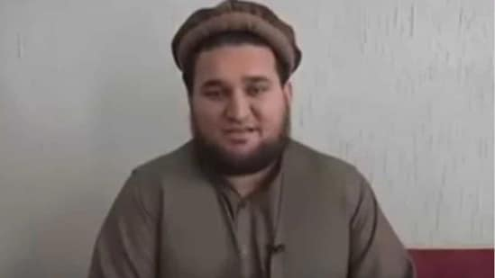 """Screengrab from """"confessional"""" video of former Taliban spokesperson Ehsanullah Ehsan.(YouTube)"""