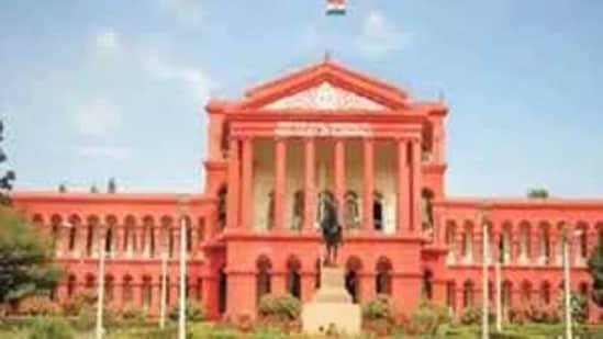 Karnataka high court.(HT photo)