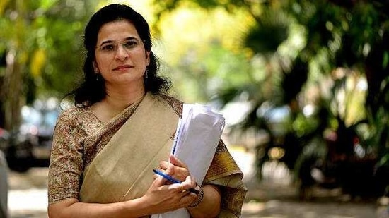 Anjali Bhardwaj, the 48-year-old activist is also the founder of the Satark Nagrik Sangathan (SNS), a citizens' group with a mandate to promote transparency and accountability in government.(Getty)