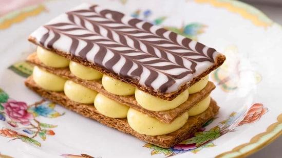 Vanilla Mille Feuille(Preppy Kitchen)