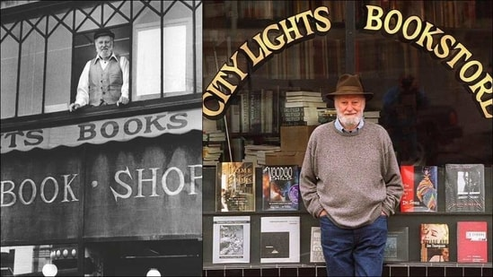 Beat poet and City Lights Bookstore founder Lawrence Ferlinghetti dies at 101(Twitter/CityLightsBooks/Sequimmarian)
