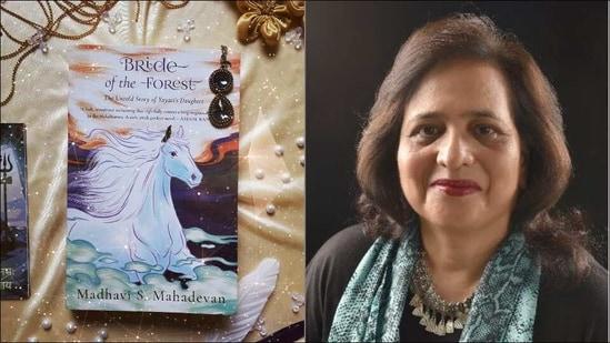 Madhavi Mahadevan's new book focuses on Mahabharata character, Yayati's daughter(Twitter/madhavism)