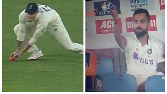 Ben Stokes was trolled on Twitter for claiming Shubman Gil's catch
