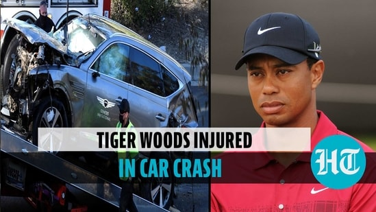 Golf great Tiger Woods has suffered serious injuries after being involved in a single-car rollover crash