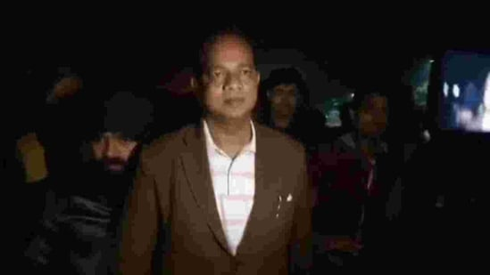 West Bengal's deputy labour minister Zakir Hossain(HT Photo)