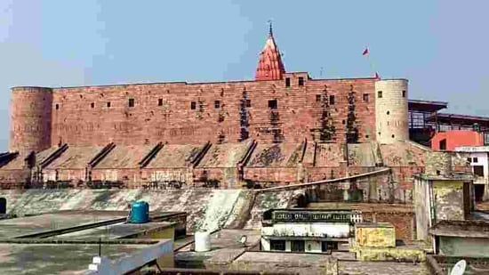A general view of Ayodhya City.(ANI Photo)