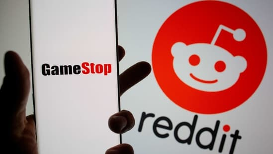 Reddit discussion threads were buzzing again about GameStop on Thursday, with members exhorting others to pile into the stock as the rally gathers steam.(REUTERS)