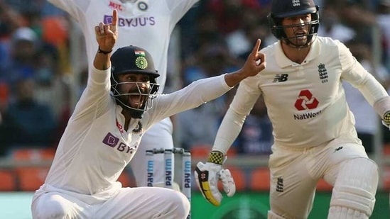 India's Virat Kohli appeals for the wicket of England's Ben Foakes during day one of the 3rd Test Match in the series between India and England at Narendra Modi Stadium, Motera in Ahmedabad.((ANI Photo/ECB Twitter))