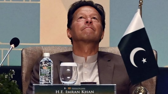 File photo of Pakistan's Prime Minister Imran Khan.(AFP)