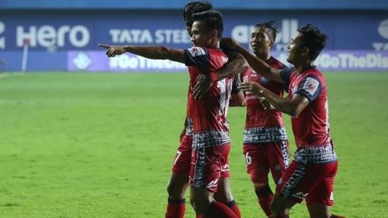 Jamshedpur beat Bengaluru FC 3-2(ISL / Twitter)