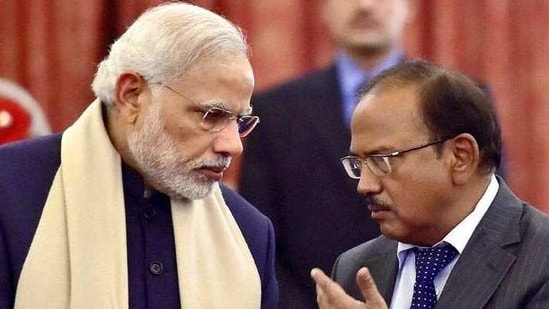 NSA Ajit Doval led the back-channel negotiations with his Pakistani counterpart that led to joint statement by the Indian defence ministry and the Pak military (PTI)