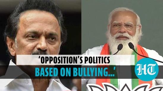 PM Modi slams Congress, DMK in Tamil Nadu