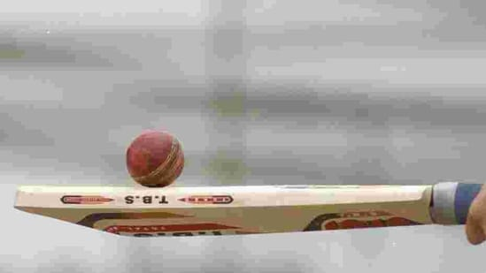 File image of a cricket bat and ball.(Getty Images)