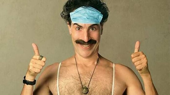 Sacha Baron Cohen has played Borat in two movies.