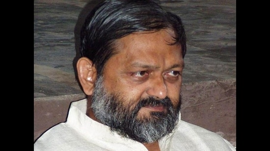 Haryana home minister Anil Vij had written to additional chief secretary, home, seeking a proposal containing names of IPS officers to be sent to the Union Public Service Commission (UPSC) for consideration as the next DGP. (HT FILE)